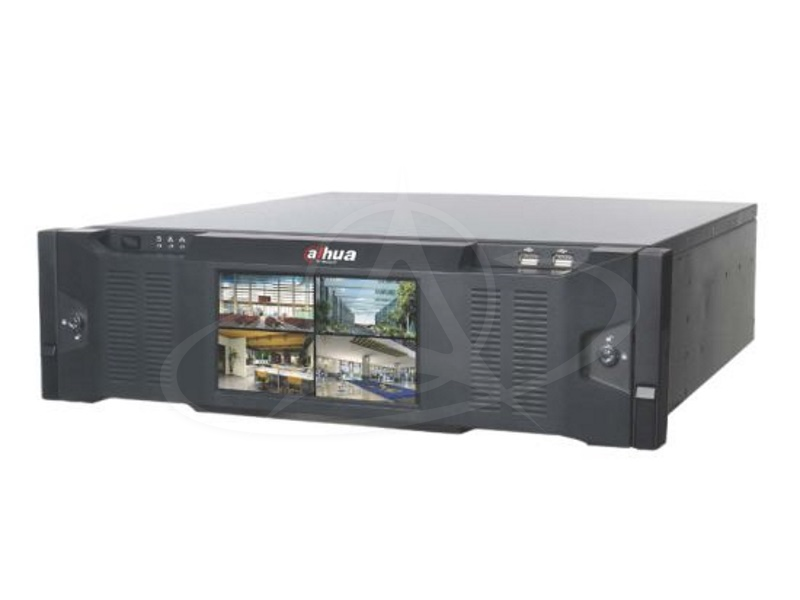 DAHUA DHI-NVR616DR-64-4KS2, DHI-NVR616DR-128-4KS2 64/128 Channel Ultra 4K H.265 Network Video Recorder with Redundant Power and LCD Monitor