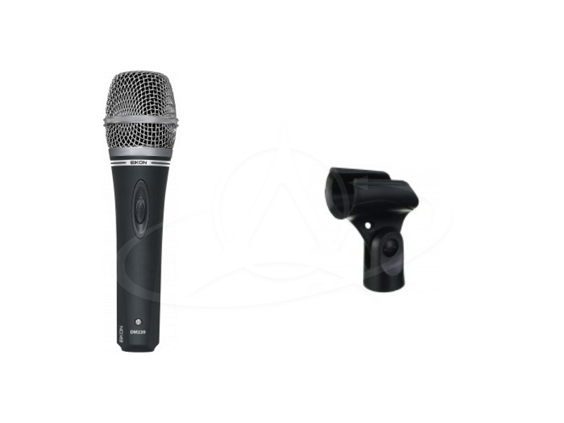 Proel DM-220 Dynamic Vocal Microphone With On/Off Switch