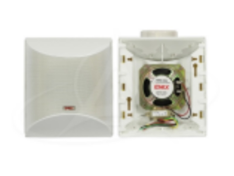"Emix EMSS-3406 4"" 6w 100v Line Surface Mount Speaker"