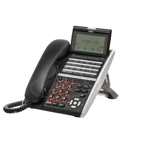 NEC DT430 DTZ-24D-3P (BK) TEL Digital 24 Button Display Telephone