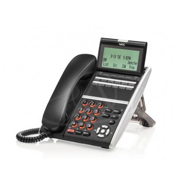 NEC DT830 ITZ-12D-3P (BK) TEL IP 12 Button Display Telephone