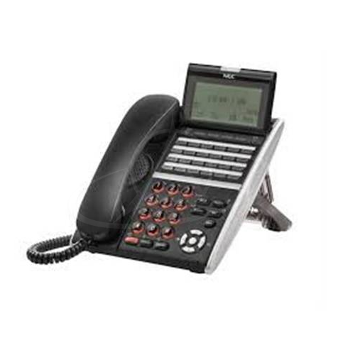 NEC DT830 ITZ-24D-3P (BK) TEL IP 24 Button Display Telephone