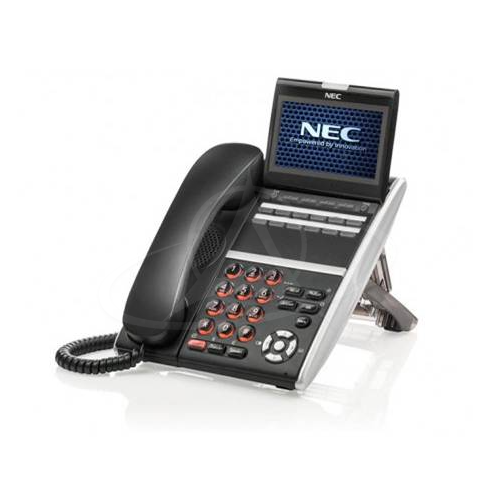 NEC DT830 ITZ-12CG-3P (BK) TEL IP 12 Button Display Telephone-Gigabit-Color Screen