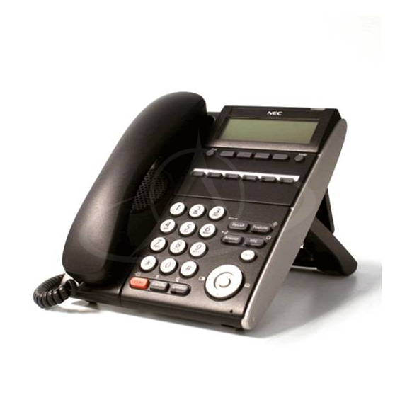 NEC DT710 ITL-6DE-1P (BK) TEL IP 6 Button Display Telephone