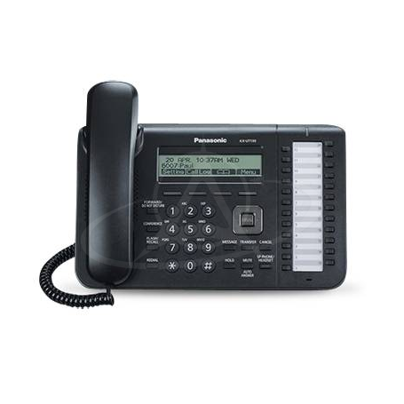 Panasonic KX-UT133 Office SIP telephone with large display and 24 feature/line keys