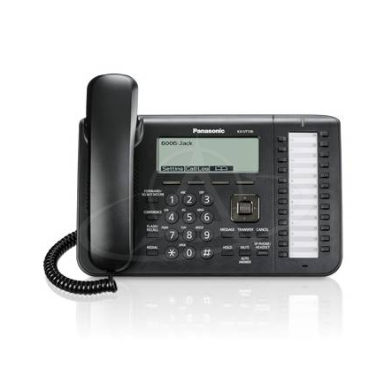 Panasonic KX-UT136 Office SIP telephone with large display and 24 feature/line keys