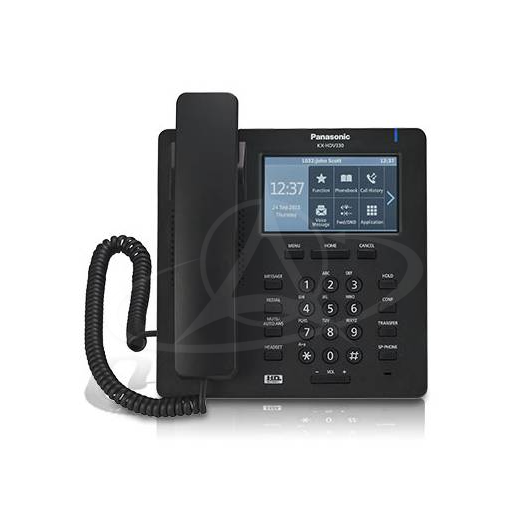 Panasonic KX-HDV330 Executive HD IP Desktop Phone with touchscreen